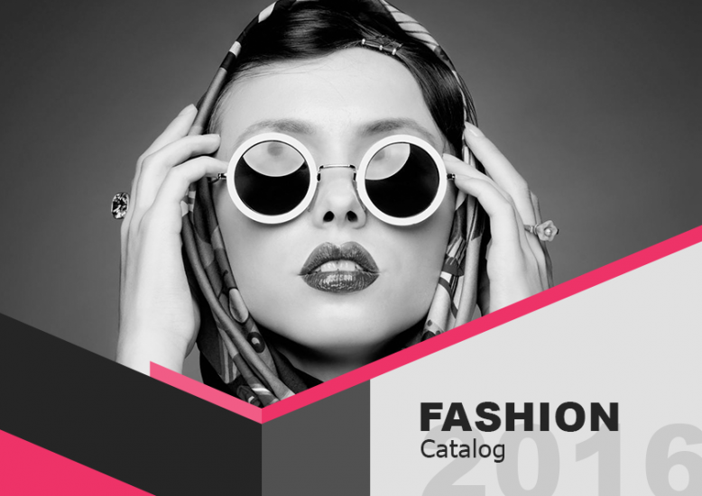 1.1. Fasion / Makeup LookBook Free Template - Cover