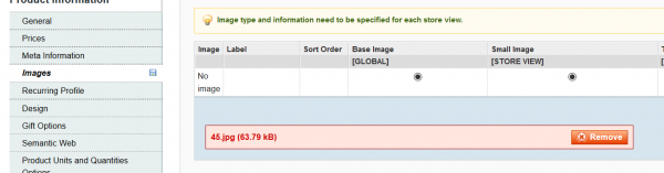 What To Check If You Cannot Upload Magento Images Customer's Admin Screenshot