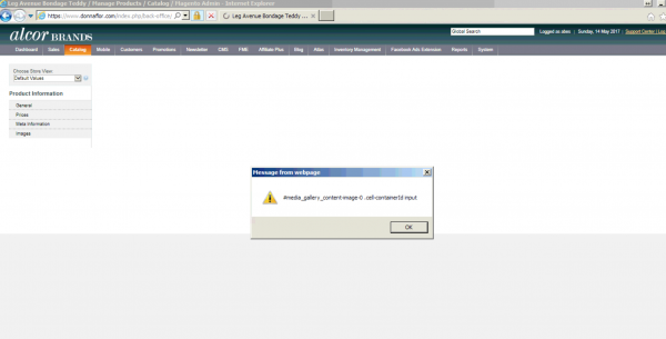 What To Check If You Cannot Upload Magento Images Customer's Error Message