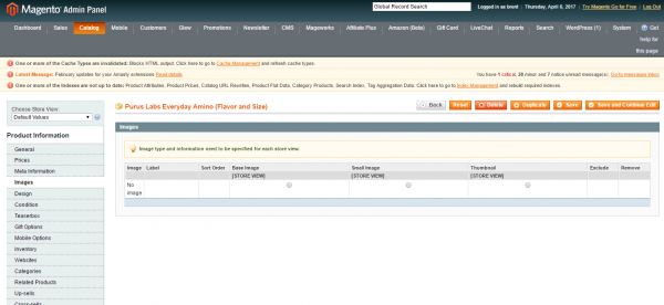 What To Check If You Cannot Upload Magento Images Customer's Admin Updated Flash