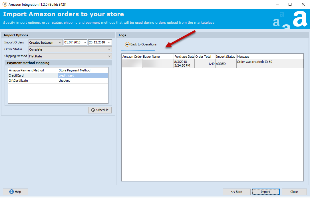 Import Amazon Orders to Magento with Store Manager