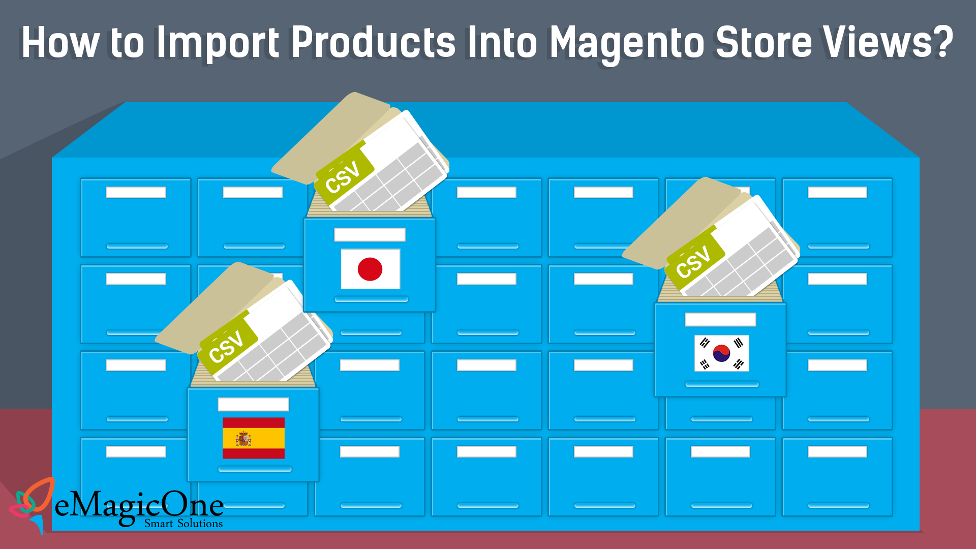Import to Magento Store View