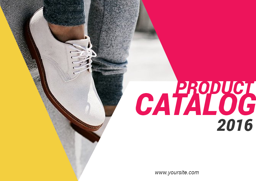 3.1. Shoes LookBook Free Template - Cover
