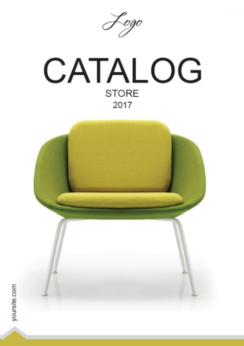 9.1. Furniture LookBook Free Template - Cover