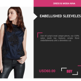 4.3. Moda LookBook Free Template - Product 1