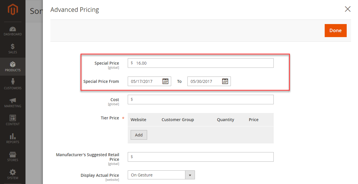 magento 2 advanced pricing