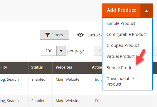Magento 2 Bundle Products