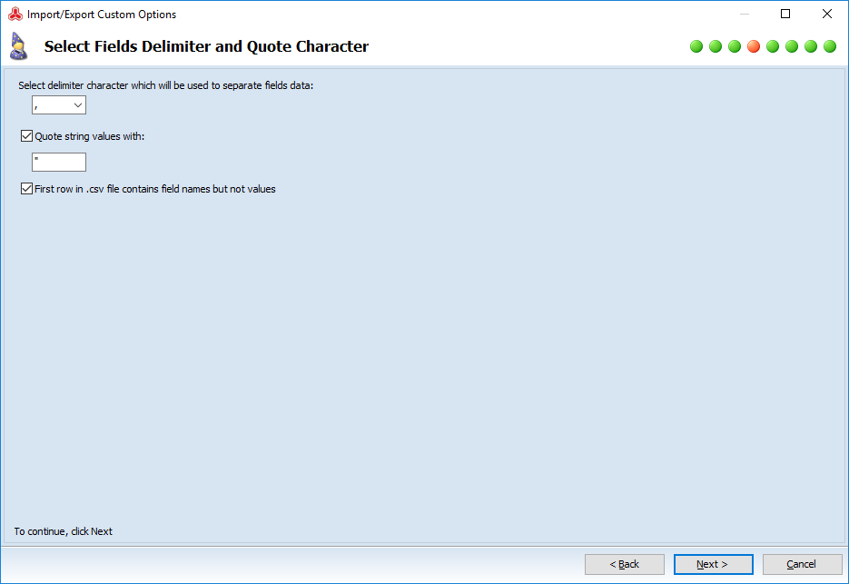 magento custom options auto import delimiter
