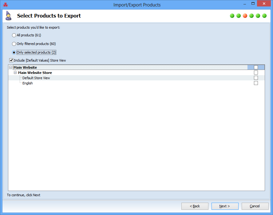 magento export configurable products