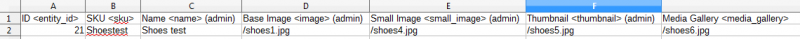 magento images import file