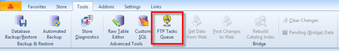 magento ftp tasks queue