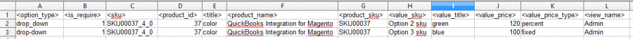 magento custom options import file