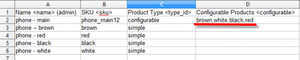 magento import configurable products