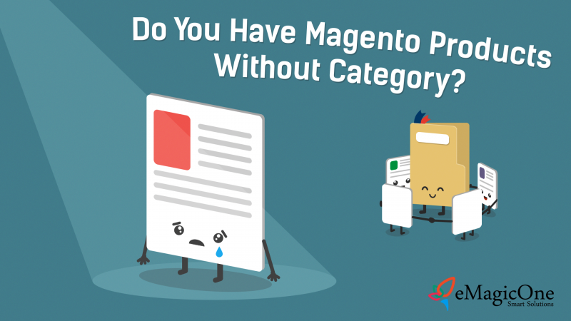 magento product without category