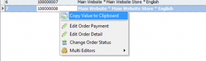 The ability to copy values from orders grid to clipboard has been added