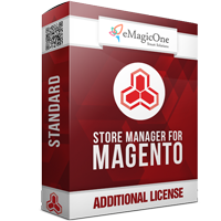 Store manager for Magento Standard Edition - Additional License
