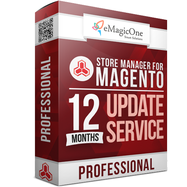 Store Manager for Magento Professional Edition Update Service - 12 months