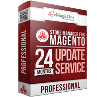 Store Manager for Magento Professional Edition Update Service - 24 months