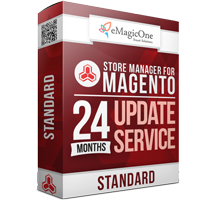 Store Manager for Magento Standard Edition Update Service - 24 months