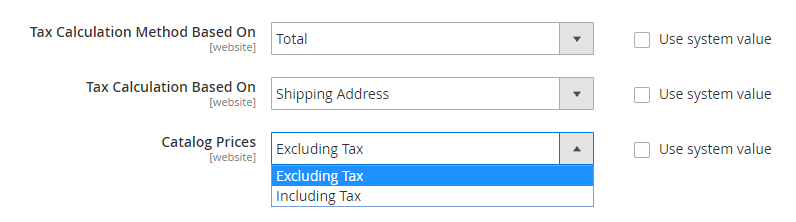 Include or Exclude Tax into Price
