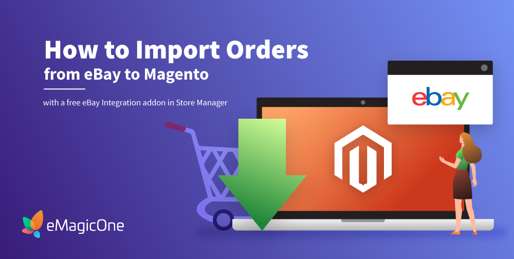 Import eBay orders to Magento 2