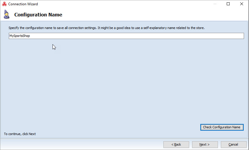 Magento Store Manager Direct Configuration Name
