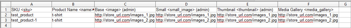 Import Images from External urls